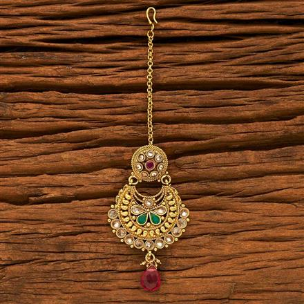 15226 Antique Chand Bore with gold plating