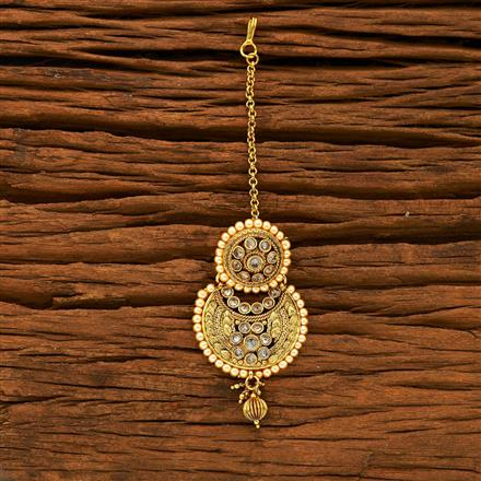 15227 Antique Chand Bore with gold plating