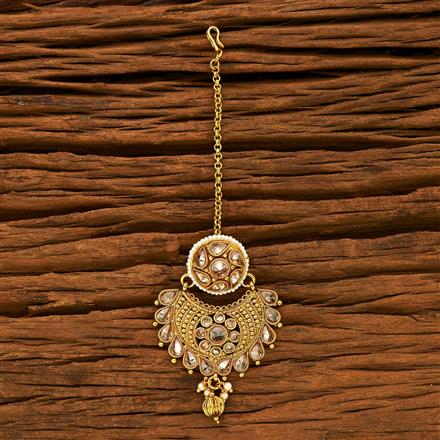15228 Antique Chand Bore with gold plating
