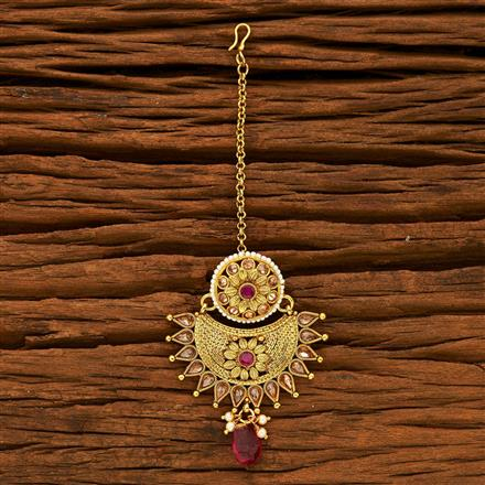 15229 Antique Chand Bore with gold plating