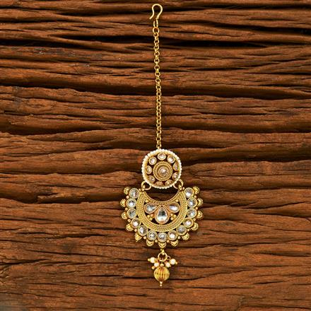 15230 Antique Chand Bore with gold plating