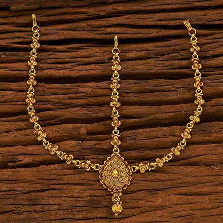 15321 Antique Plain Gold Damini