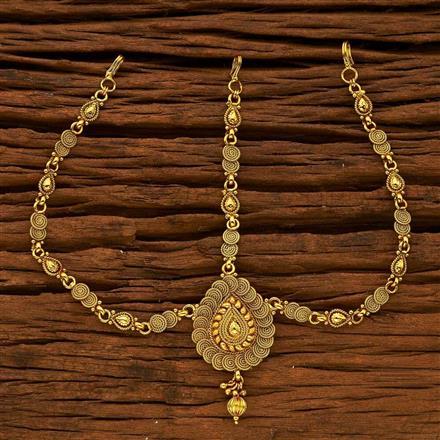 15324 Antique Plain Gold Damini
