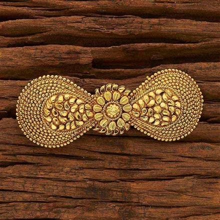 15383 Antique Classic Hair Clip with gold plating