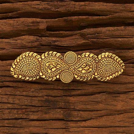 15384 Antique Classic Hair Clip with gold plating