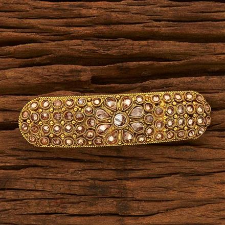 15385 Antique Classic Hair Clip with gold plating