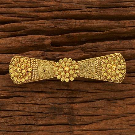 15387 Antique Classic Hair Clip with gold plating