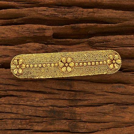 15395 Antique Classic Hair Clip with gold plating