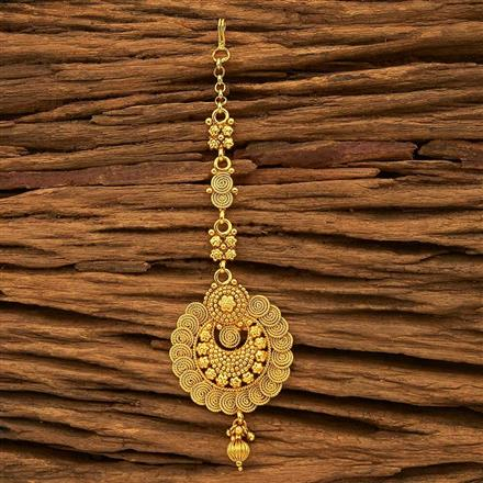 15821 Antique Chand Tikka with gold plating