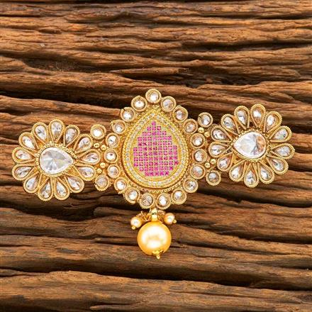 16371 Antique Classic Hair Clip with gold plating