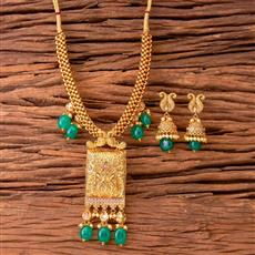 17821 Antique Classic Pendant Set with gold plating