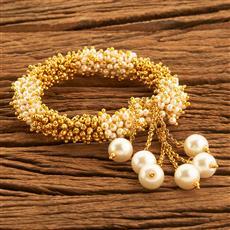 18718 Antique Adjustable Bracelet with gold plating