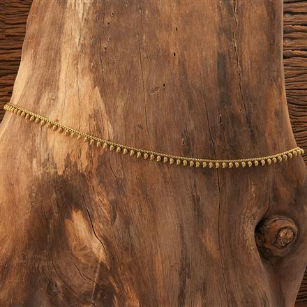 19021 Antique Delicate Belt with gold plating