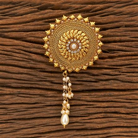 200123 Antique Classic Hair Clips with gold plating