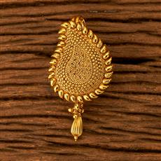 200124 Antique Classic Hair Brooch with gold plating
