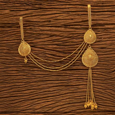 200129 Antique Double Jhuda with gold plating