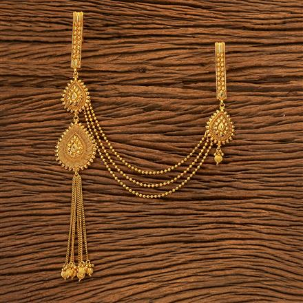 200130 Antique Double Jhuda with gold plating