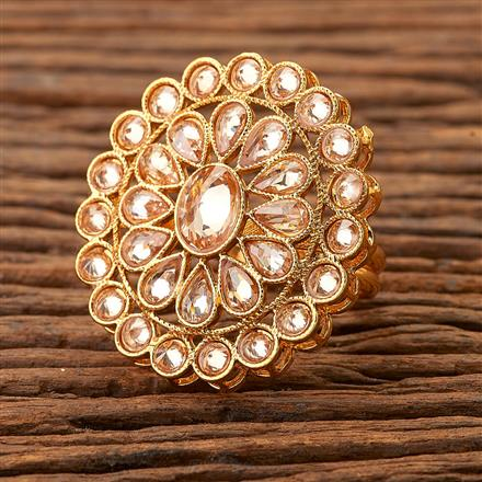 200351 Antique Classic Ring with gold plating
