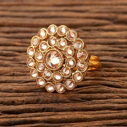 200353 Antique Classic Ring with gold plating