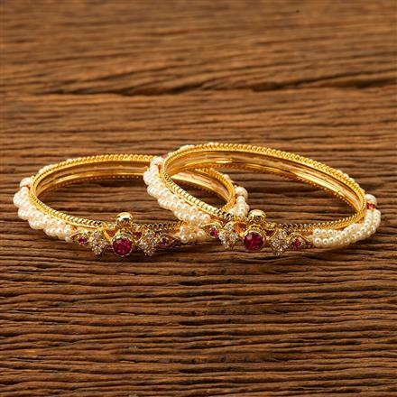 200469 Antique Openable Bangles with gold plating