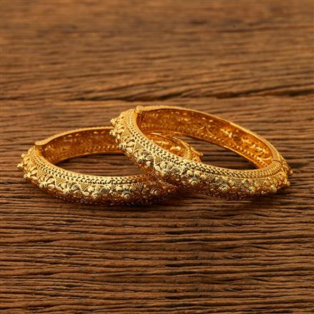 200471 Antique Openable Bangles with gold plating