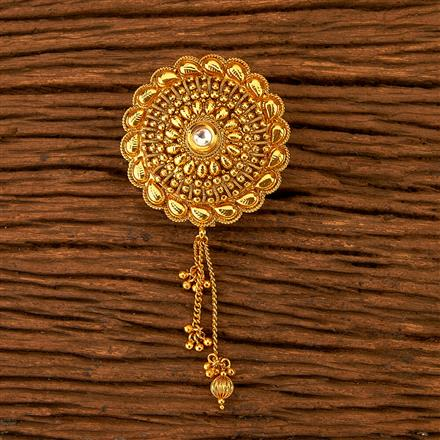 200620 Antique Classic Hair Clips with gold plating