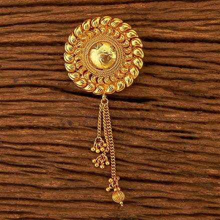 200623 Antique Classic Hair Clips with gold plating