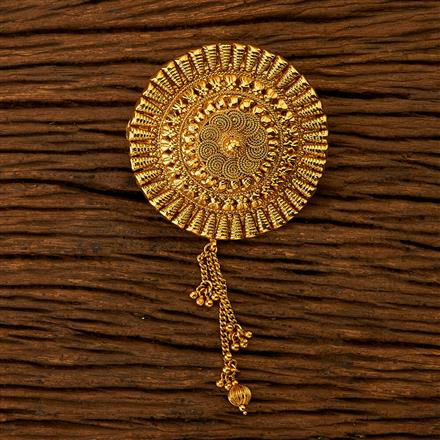 200734 Antique Classic Hair Clips with gold plating