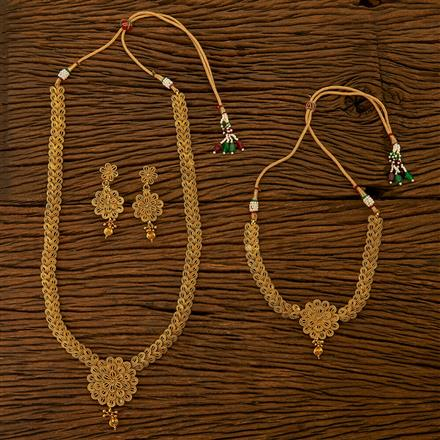 200805 Antique Combo Necklace sets with gold plating