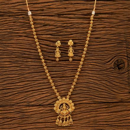200989 Antique Temple Pendant set with gold plating