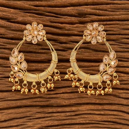 201028 Antique Classic Earring with gold plating