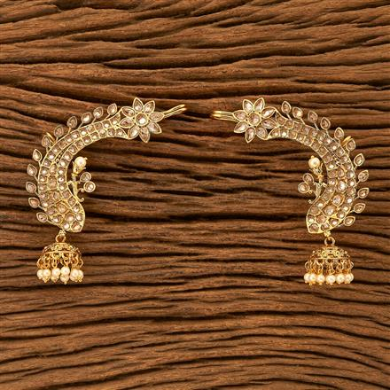 201094 Antique Earcuffs with gold plating