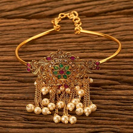 201106 Antique Classic Baju Band with gold plating