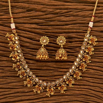 201128 Antique Classic Necklace with gold plating