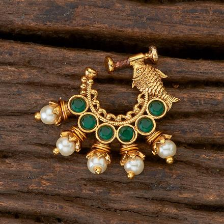 201405 Antique Classic Nose Ring with gold plating