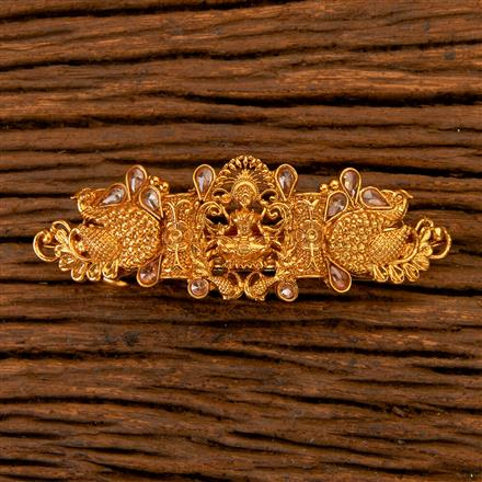 201639 Antique Classic Hair Clips with gold plating