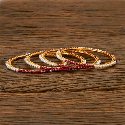 201683 Antique Delicate Bangles with gold plating