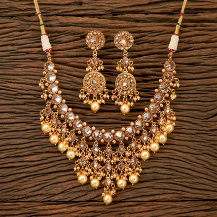 201776 Antique Classic Necklace With Gold Plating