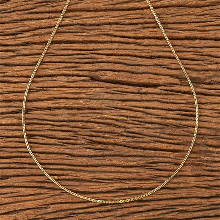 20178 Antique Plain Chain with gold plating