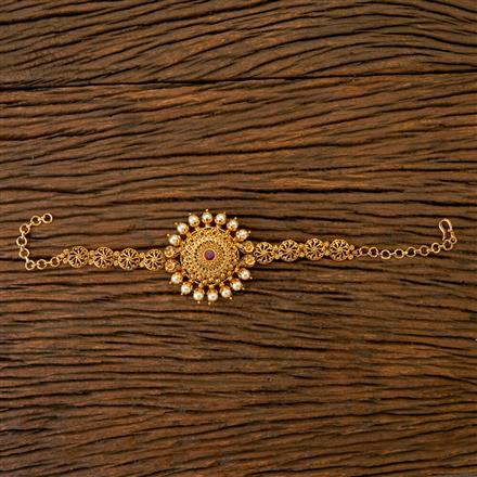 201805 Antique Classic Baju Band With Gold Plating