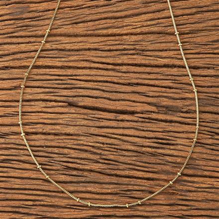 20184 Antique Plain Chain with gold plating