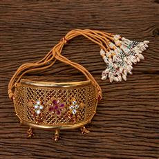 201955 Antique Classic Baju Band With Gold Plating