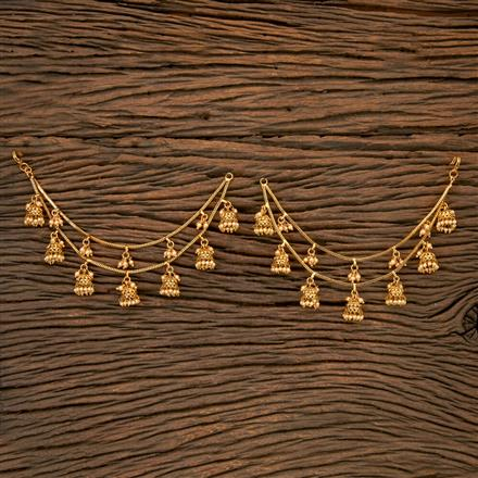 202183 Antique Classic Ear Chain With Gold Plating