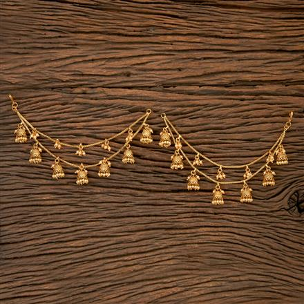 202187 Antique Classic Ear Chain With Gold Plating