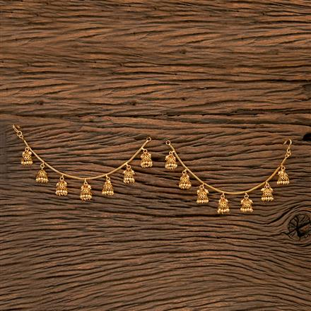 202189 Antique Classic Ear Chain With Gold Plating