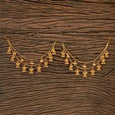 202192 Antique Classic Ear Chain With Gold Plating