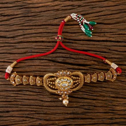202351 Antique Classic Baju Band with Gold Plating