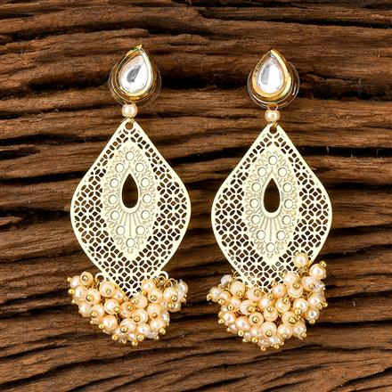 202466 Antique Classic Earring with Gold Plating