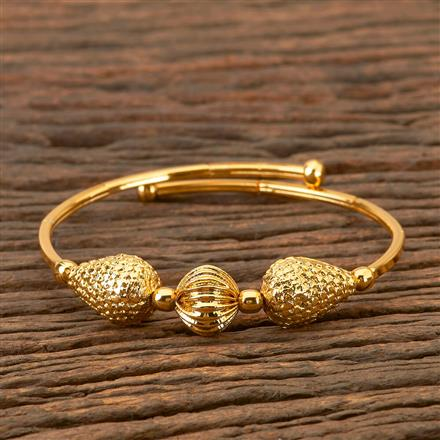 202474 Antique Delicate Kada with Gold Plating
