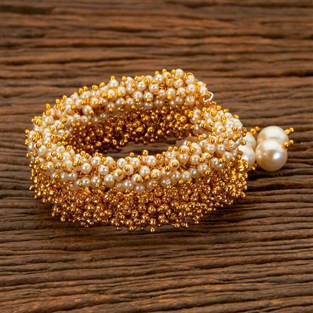 202497 Antique Adjustable Bracelet with Gold Plating